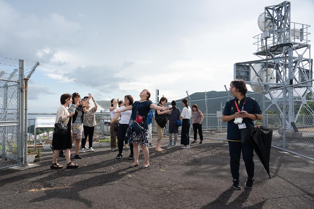 JAXAの内之浦宇宙空間観測所